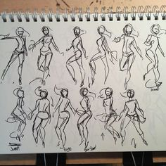 Dancing Girl Illustration (and tutorial?)