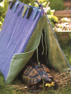 une tente pour votre animal de compagnie / Pet Tent