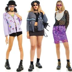 Pretty Outfits, Cool Outfits, Fashion Outfits, Look Street Style, Fashion Catalogue, 2000s Fashion, Mode Inspiration, Look Cool, Aesthetic Clothes