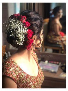 Bridal Hairstyle Indian Wedding, Vintage Bridal Hair, Bridal Hair Buns, Bridal Hairdo, Hairdo Wedding, Indian Bridal Hairstyles, Wedding Hairstyles For Long Hair, Bride Hairstyles, Bridal Hairstyle For Reception