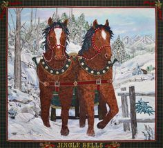 http://www.kathymcneilquilts.com/  Jingle Bells by Kathy McNeil.  Hobbs Tuscany Wool batting was used in this beautiful quilt!