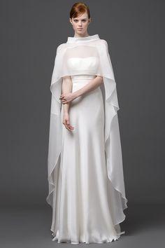 Vestido de novia Alberta Ferreti colección Primavera - Verano 2015.