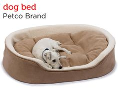 Give your pet a comfortable & safe place to lounge with this plush, soft bed from Petco's Holiday Gift guide.