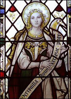 Saints and incorrupt Intact: Santa Aurelia Petronina or Santa Petronilla. The head Lucrezia Borgia was suppose to have kissed while very ill.