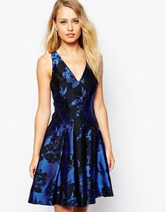 Enlarge Coast Moya Skater Dress