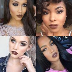 tendencias-maquiagem-batom-marrom
