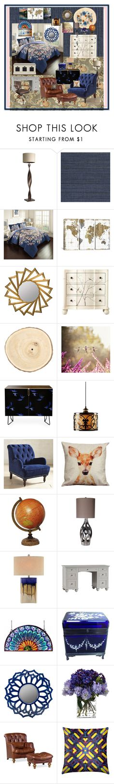 """Autumn Inspired Master Suite"" by aurorasblueheaven ❤ liked on Polyvore featuring interior, interiors, interior design, home, home decor, interior decorating, Home Decorators Collection, Pier 1 Imports, Élitis and Marble Hill"