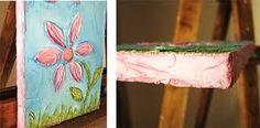 Resultado de imagen para manualidades con flores secas para niños