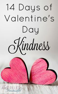 Valentine's Day is a great time to show kindness to others, and here are 14 ways you can be kind to others as Valentine's Day approaches! via @AFHomemaker