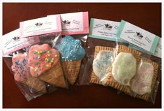Individually Packaged Ice Cream Cone or Pup-Tart Dog Treat - Gourmet Cookies - All Natural - Great Gift Idea - Peanut Butter Dog Treats