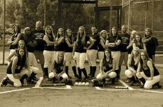 Oliver Springs Lady Cats Softball Team. Photo by Lori Ann Noe Davis