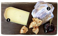 """When it comes to assembling a cheese plate, we usually stick to the classic """"one hard, one soft, one blue"""" rule."""