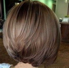 Trendy Hair Color And Haircut Are Fascinating – Page 20 – Hairstyle Pretty Hairstyles, Bob Hairstyles, Straight Hairstyles, Medium Hair Styles, Short Hair Styles, Stacked Haircuts, Hair Color And Cut, Hair Repair, Layered Hair