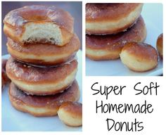 home made donuts recipe