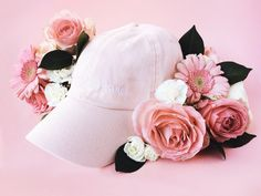 "Pink hat with embrace ""Girls Watch Porn"" by girlswp on Etsy"