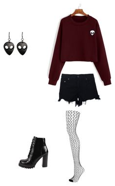 """Untitled #122"" by bloodrose6 on Polyvore featuring Topshop, Jeffrey Campbell and rag & bone"