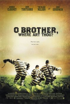 O BROTHER WHERE ART THOU - 2000 Original D/S 27x40 Movie Poster- GEORGE CLOONEY