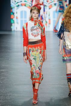 Anna Sui New York Spring/Summer 2017 Ready-To-Wear Collection