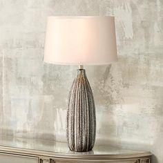 Stella Fluted Mercury Glass Table Lamp