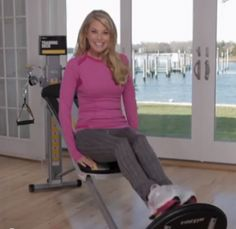 Amazing Leg Workout Christie Brinkley Legs Workout<br> Christie Brinkley joins us on Total Gym Pulse once again to show us an amazing leg workout using The Total Gym to help you work the lower body. Total Gym Workouts, Gym Workouts Women, Body Workouts, Cardio, Yoga Routine, Fitness Tracker, Total Gym Xls, Workout Playlist, Gym Workout For Beginners