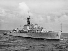 HMS Cardigan Bay was a Bay-class anti-aircraft frigate of the British Royal Navy, named after Cardigan Bay, off the coast of Ceredigion, Wales http://ift.tt/1HuIAAJ