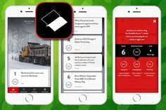 With BriefMe, users can replace their print subscriptions to newspapers and magazines with a paper-free, mobile-friendly format. The app works by providing users with the top 10 most read and shared articles on the Internet at any given moment. (Photo: Courtesy iTunes)