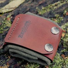 Leather and Oil Cloth Canvas Bushcraft Forager by PNWBushcraft
