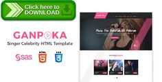 [ThemeForest]Free nulled download Ganpoka - Singer Celebrity HTML Template from http://zippyfile.download/f.php?id=13347 Tags: album, artist, audio, band, club, concert, entertainment, event, html, mp3, music, singer, song, track