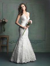 Allure.  Gorgeous dress!