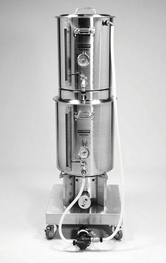 Blichmann Easy-Brew Home Brewing Stand http://www.westcoastbrewer.com/Home_Brewing_Stands.php