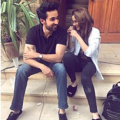 Bilal Abbas and Hania Amir