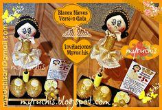 Fiesta princesas, Fiesta niña, Fiesta Infantil, Ideas fiesta, Fiesta Blanca Nieves, Invitaciones Infantiles myruchis.blogspot.com