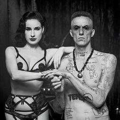 Dita von Teese and Ninja  Gucci Coochie