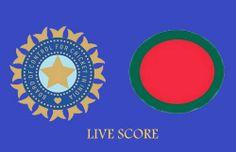 India vs Bangladesh twenty20 live match score.