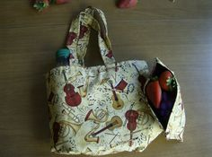 SALE Reusable Lunch and Snack Bag Set  Musical by greenlioness, $12.00