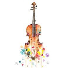 Violin art...this is the WINNER