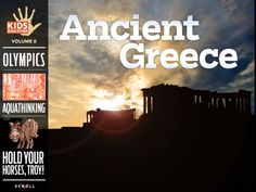 Take a virtual tour of the Parthenon, learn all about the Greek Gods, and discover fascinating facts about life in Ancient Greece with this interactive reading experience for kids!