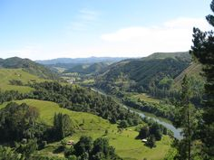 Too beautiful. Wanganui river valley, near Wanganui, New Zealand.