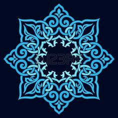 Vector - traditional Persian-Arabic-Turkish-Islamic Pattern
