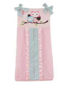 Look what I found on #zulily! Who Loves You Diaper Stacker #zulilyfinds