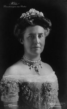 Her Royal Highness Grand Duchess Hilda of Baden (1864-1952) née Her Highness Princess Hilda of Luxembourg,