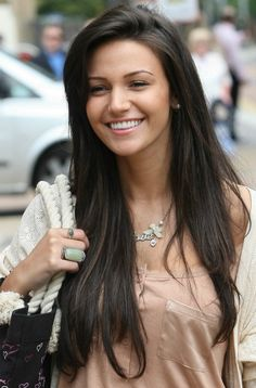 Michelle Keegan... I want her hair. Color and length