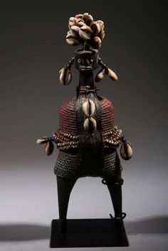 Africa | Namji fetish doll from Nigeria | ca. late 20th century | Sold