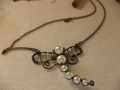 She Is: Wire Wrap Dragonfly Pendant Tutorial