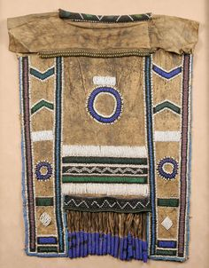 Africa | Beaded apron from the Ndelebe people of South Africa.
