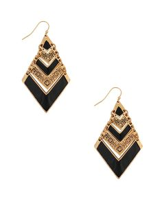 Triba Pattern Arrowhead Earrings | FOREVER21