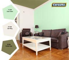#CeresitaCL #PinturasCeresita #Color #Living #Pintura #Decoración #Hogar #Home *Códigos de color sólo para uso referencial. Los colores podrían lucir diferentes, según calibrado de su monitor.