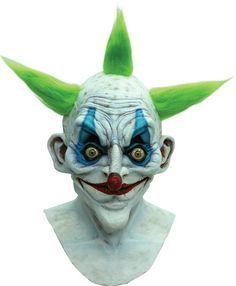 TB26499 Morris Costumes Men/'s Halloween Latex Zippo The Clown Mask One Size