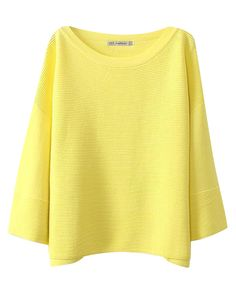 Pure Color Eight Sleeves Knitwear