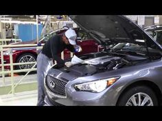 First Production Infiniti Q50 Completed